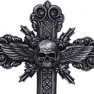 Placheta decorativa pentru perete Crucifix 32 cm
