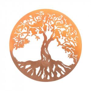 Placheta decorativa perete Copacul vietii - Rasarit de soare