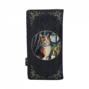 Portofel embosat cu pisica Aventura asteapta 19 cm