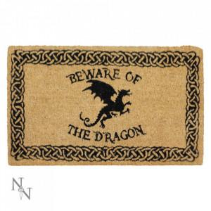 Preș ușă intrare Atenție la dragon