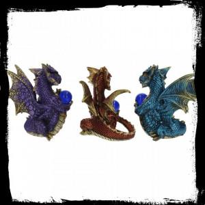 Set 3 statuete dragoni Pazitorii globului