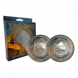 Set 4 coastere licenta Lord of the Rings - The Green Dragon