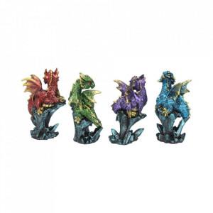 Set 4 statuete Dragonei la sfat