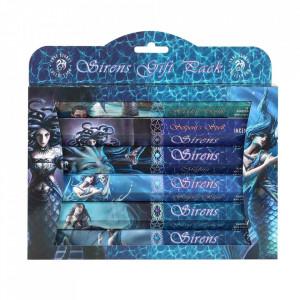 Set cadou de betisoare de tamaie - Sirens Anne Stokes