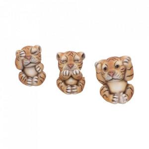 Set statuete Trei Tigri intelepti 8 cm