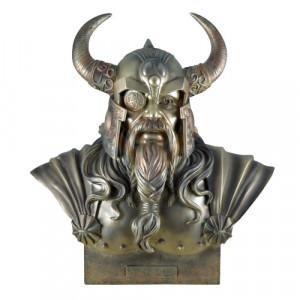 Statueta - bust zeu nordic Odin 30cm
