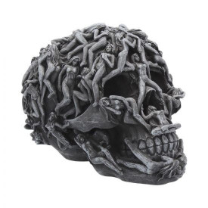 Statueta craniu Hell's Desire 18cm