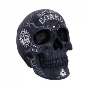 Statueta craniu Spirit Board - negru 20cm