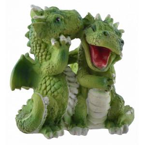 statueta doi dragonas indragostiti