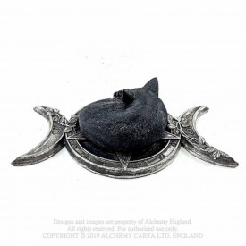 Statueta pisica neagra Witches Familiar
