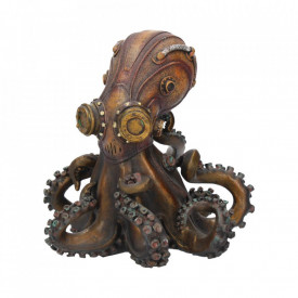 Statueta steampunk Octo-steam 15 cm