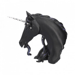 Statueta unicorn Miezul noptii 15 cm