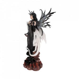 Statueta zana si dragon Isabelle 57 cm