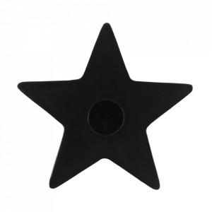 Suport lumanari pentru ritualuri Stea Neagra