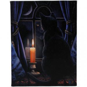 Tablou canvas, Miezul Noptii, 19x25cm - Lisa Parker