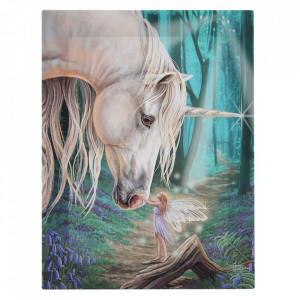 Tablou canvas Soapte de Zana 19x25cm - Lisa Parker