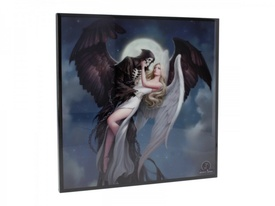 Tablou MDF imagine super clara Inger si Demon - James Ryman 25 cm