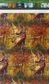 Autumn Fairy Wrapping Paper