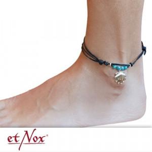 Bratara picior cu charm argint Scoica
