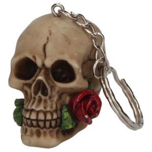 Breloc Un trandafir de dincolo de moarte 4 cm