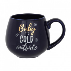 Cana ceramica Baby it's cold outside