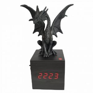 Ceas digital de birou Dragon Sezand 22 cm