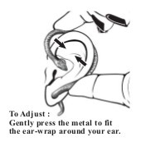 Cercel tip ear cuff Dragonul de cristal