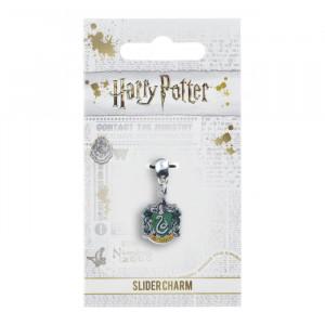 Charm placat argint licenta Harry Potter Casa Viperinilor