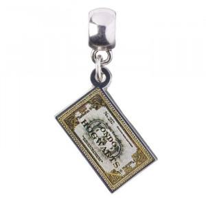 Charm placat argint licenta Harry Potter Hogwarts Express Ticket