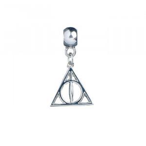 Charm placat argint licenta Harry Potter Talismanele Mortii