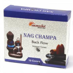 Conuri parfumate backflow Aromatika - Nag Champa