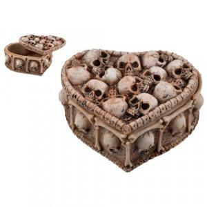 Cutie pentru bijuterii cranii Suflete Pierdute 12cm