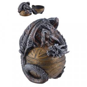 Cutie pentru bijuterii Dragon Celtic 16cm