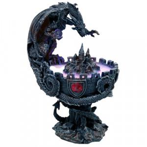 Decoratiune cu led dragon Protectorul Cetatii