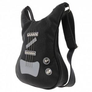 Guitar-shaped bag Black Simplicity