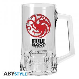 Halba sticla licenta Game of Thrones - Casa Targaryen