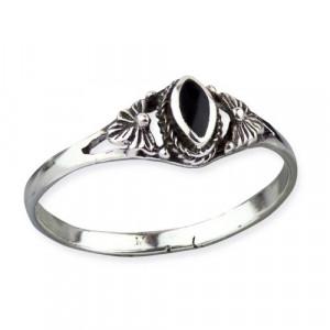 Inel argint cu onix Margarete