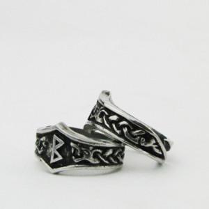 Inel viking cu runa Berkan