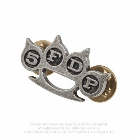 Insigna 5 Finger Death Punch: Knuckle Duster Pin