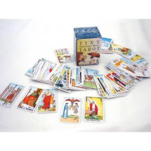 Mini carti de tarot Universal Waite 3.5 cm