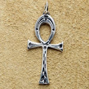 Pandantiv argint Ankh egiptean