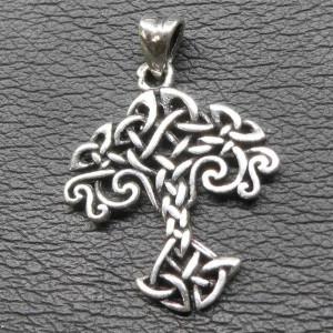 Pandantiv argint Copacul vietii din nod celtic