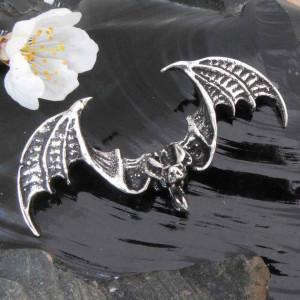 Pandantiv argint Liliac