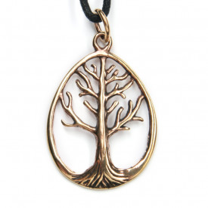 Pandantiv bronz Copacul Vietii 4 cm