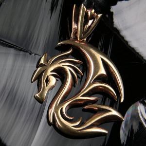 Pandantiv bronz Dragon Celtic