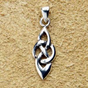 Pandantiv celtic argint Nod