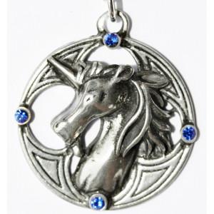 Pandantiv celtic Unicorn
