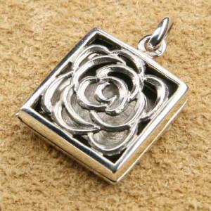 Pandantiv medalion argint pentru poza Trandafir