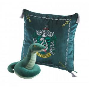Perna decorativa cu mascota - Casa Slytherin