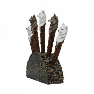 Pix sculptat - Lup